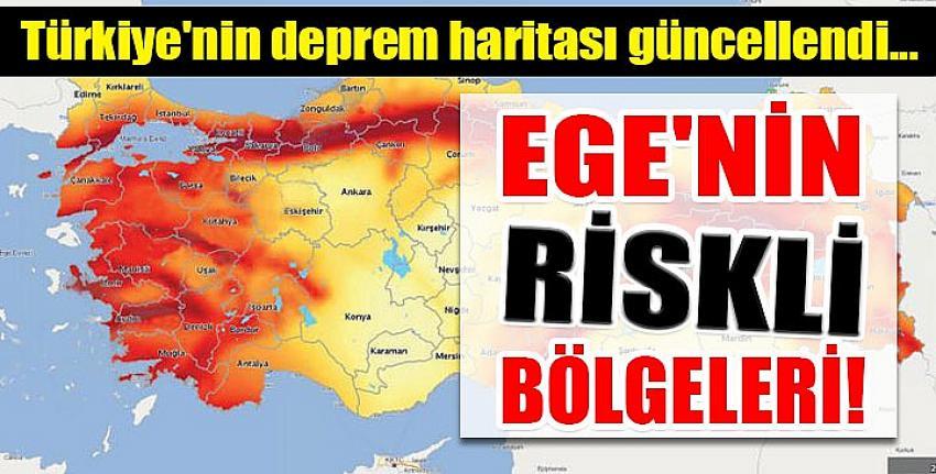 Turkiye Nin Deprem Haritasi Guncellendi